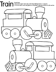 Train coloring pages suitable for preschool and kindergarten children. Train Coloring Page Crayola Com