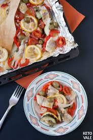 baked fish fillets in foil