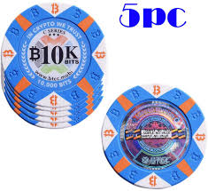 During the design process of bitcoin poker 3.0, the swc poker team debated the issue of chip denomination. Aikar 5pc Bitcoin 10k Bits Poker Chip Premium Clay Composite Bitcoin Collectibles 0 01 Btc Amazon Ca Sports Outdoors