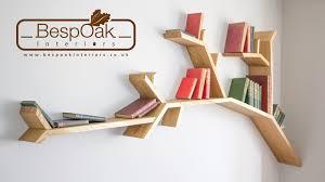 Tree Bookshelf Branch Fitting Guide - The 2.4m Oak Branch Shelf - YouTube