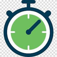 Free Download Round Green Clock Timer Stopwatch Software