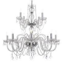 venetian style crystal chandelier