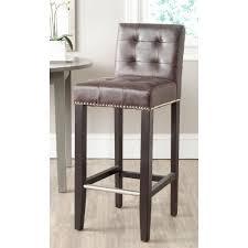 fleur de lis bar stools. Antique Brown Cushioned Bar Stool Fleur De Lis Stools