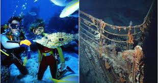 real underwater titanic pictures. Modren Underwater Canadians Can Actually Tour The Real Titanic Ship In St Johnu0027s NL This  Summer Intended Underwater Pictures