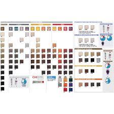 Chi Ionic Permanent Shine Hair Color Chart Chi Ionic Permanent Color 5cm Medium Chocolate Mocha Brown 3 Oz
