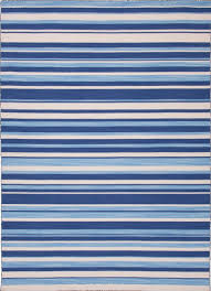 navy blue and white striped rug for sale at stdibs