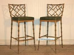 chippendale bar stool.  Stool Bar Stool Pair Regency Faux Bamboo Metal Stools Dining Chairs Post Photo  Style Chippendale Chinese Di   On Chippendale Bar Stool