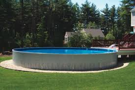 free standing fibreglass swimming pools. Unique Standing Waideu0027s Pools U0026 Spas Freestanding Radiant Above Ground Swimming Pool With  Deck And Ladder In East And Free Standing Fibreglass Swimming O