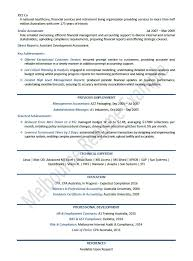 Finance Manager Resume Example Resume Template p3
