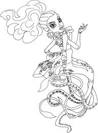 Small Picture Free Printable Monster High Coloring Pages Kala Merri Monster