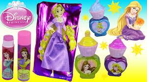 disney princess cosmetic set rapunzel makeup bag sweet surprises nail polish lip gloss you