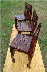 pallet outdoor furniture ideas. Beautiful Mahogany Chairs For Your Outdoor Patio Pallet Furniture Ideas E