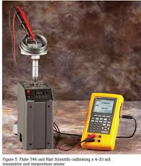 eliminating sensor errors in loop calibrations from davis instruments after the test has been defined the fluke 744 will take over and run the test recording the sourced temperature measured output of the transmitter in ma