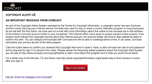 """Notice Of Copyright Importance Here's what an actual """"six strikes"""" copyright alert looks like Ars 1"""