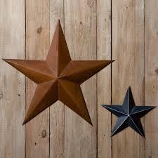 rustic metal star sturbridge yankee work