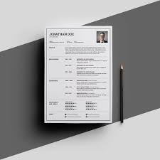 Single Page Resume Format Monzaberglauf Verbandcom