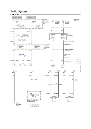 repair guides wiring diagrams wiring diagrams (1 of 34 2001 Honda Odyssey Fuse Diagram audio system electrical schematic (ex, ex l) (2006) 2000 honda odyssey fuse diagram