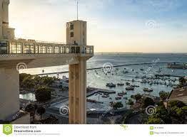 Aufzug Elevador Lacerda Lacerda - Salvador, Bahia, Brasilien Stockfoto -  Bild von städtisch, amerika: 91410992