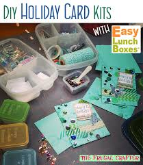 diy holiday card supplies storage is easy with containers by easylunchboxes