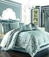 damask bedding set gold comforter black and white
