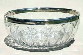 glass serving bowls ceramic serving bowls with glass lids