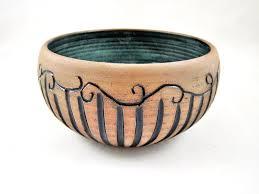 Ceramic Bowl Designs Stripe Design Serving Bowl Made To Order