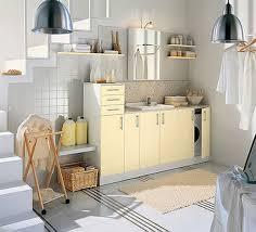 Amazing Yellow Laundry Room Design Idea A Happy Green Laundry Room