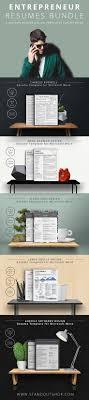 Modern Newsetter Resume Templates Entrepreneur Resume Collection For Microsoft Word Download