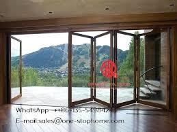 interior folding doors new design sliding glass doors interior folding dividers soundproof insulated glass aluminium interior