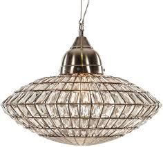 kristen pendant lamp d55cm clear