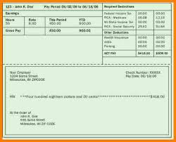 Pay Stubs Maker 5 Free Paycheck Stub Maker Samples Of Paystubs