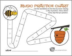 Free Printable Music Practice Charts Practice Charts The Piano Student