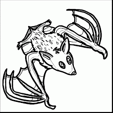 Small Picture Remarkable how to draw bats drawing with bat coloring page