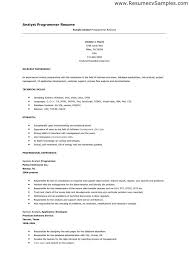 good resume resume and sample html