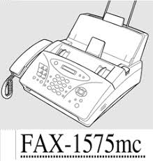 Brother 1575mc Intellifax Fax Machine User Guide Instructions Manual