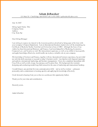 8 Unsolicited Cover Letter Example Best Ideas Of Cover Letter For