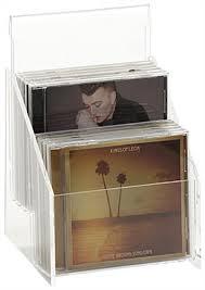10 cd rack
