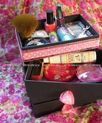 DIY Makeup Organizing Ideas - Stylish Beauty Box Makeup Organizer -  Projects for Makeup Drawer,