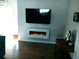 napoleon 50 inch wall mount electric fireplace nefl50b touchstone onyx in