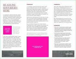 Template Brosur Microsoft Office Brochure Templates Awesome 68 Free Download