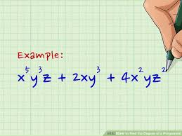 polynomials with multiple variables image titled find the degree of a polynomial step 7