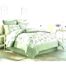 brown and green comforter olive bedding sage sets classics roman stripe queen