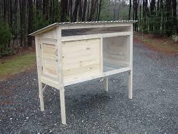 rabbit hutch diy wood plans