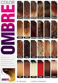 Motown Tress Color Chart Ombre Hair Colors In 2019 Ombre Hair Color Hair Color