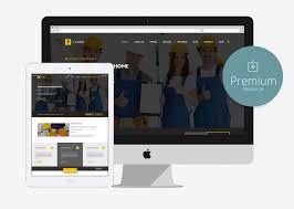 Construction Website Templates Adorable 48 Free Bootstrap Construction Company Website Templates 48