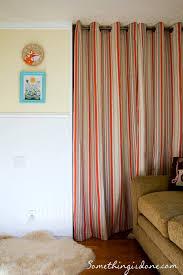 closet door curtain