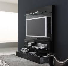 black diamond wall mounted modern tv cabinets design