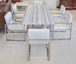 modern white dining table. fabulous white marble dining table and modern i