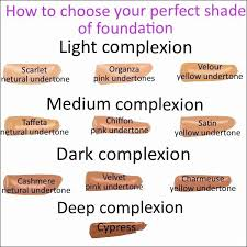 45 Unexpected Younique Foundation Chart