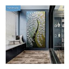 wall art canvas paintings flower on